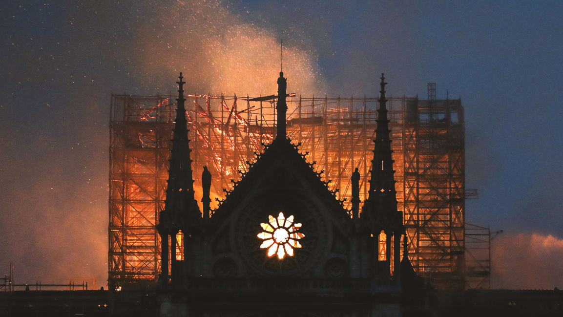 Notre Dame: Why Projects Go Up in Flames
