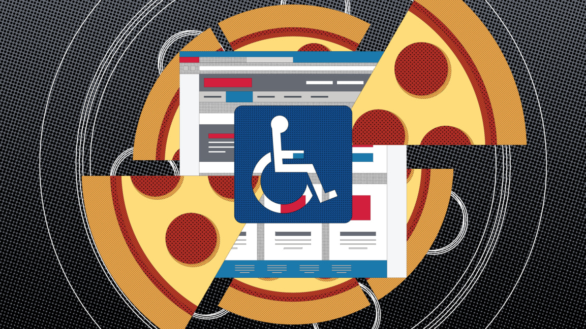 Domino's Pizza is locked in a legal battle over the future of web design