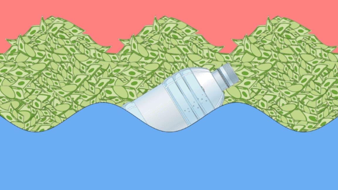 Coca-Cola, Nestlé, and PepsiCo are the world's biggest plastic polluters—again
