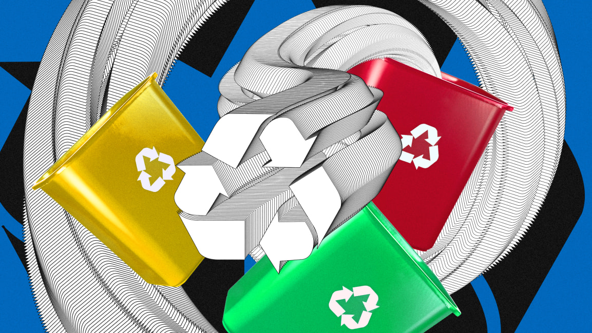 FASTCOMPANY - Waste is an enormous problem. But recycling is the wrong solution