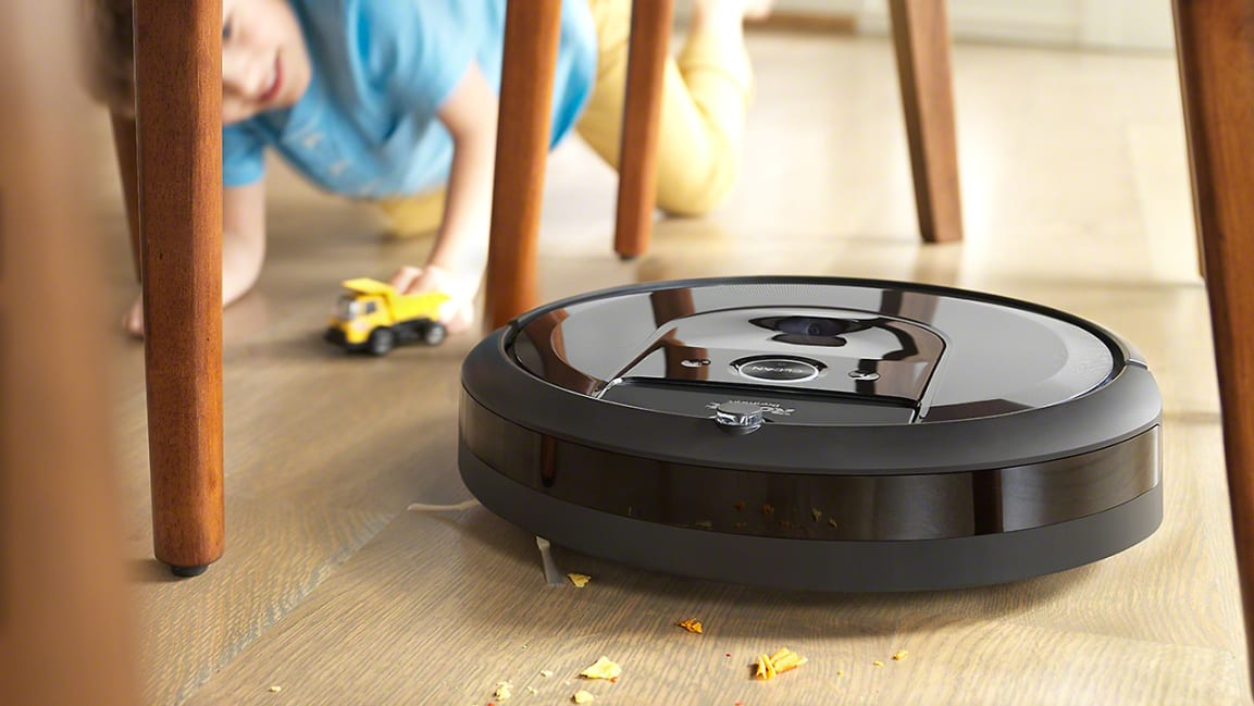 A new 'brain swap' makes iRobot's Roomba vacuum way smarter