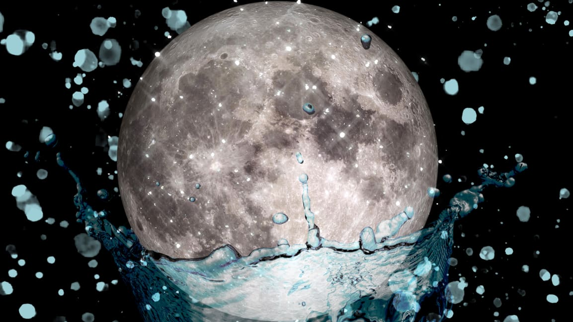 Scientists find proper H20 on the moon, ahead of a planned 2024 landing