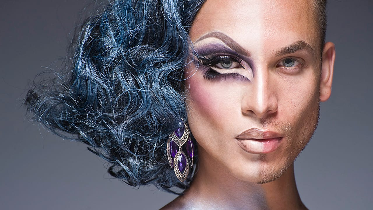 "Ladies And Gentlemen: See Two Faces Of Gender Identity In Stunning ""Half Drag"" Photos"