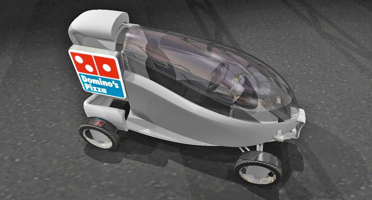 Forget Custom Pies: Domino's Wants Your Help Creating A New Pizza Delivery Vehicle