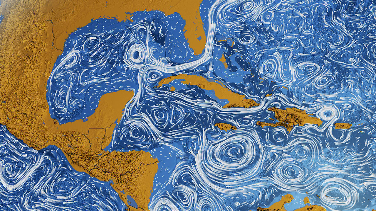Better Than A Van Gogh: NASA Visualizes All The World's ...