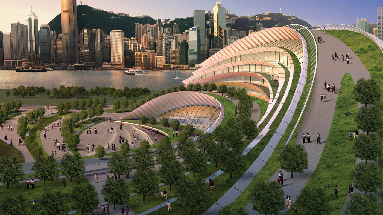 In Hong Kong High Speed Rail Gets A New Look Worthy Of