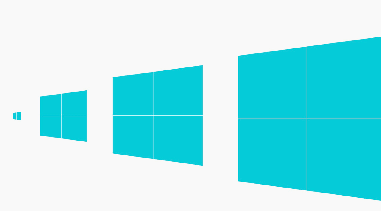 The new windows 8 logo arrives trailed by pirates and haters for New window company
