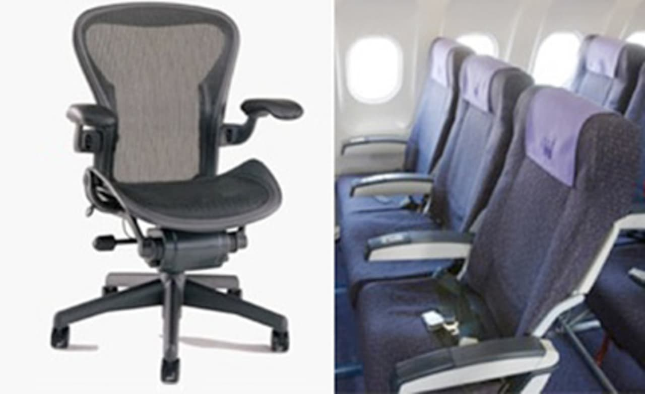 why aren t airplane seats more like the aeron chair