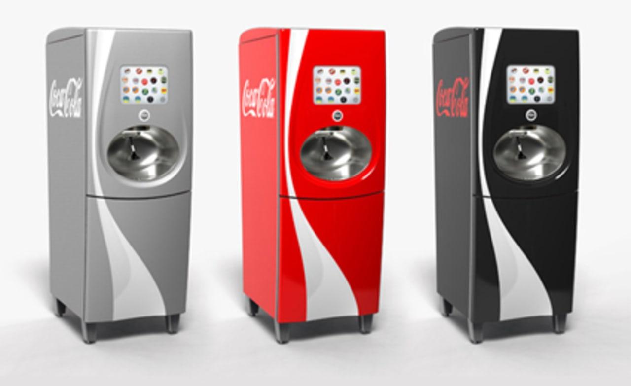 Coca-Cola's 100-Flavor Interactive Freestyle Soda Fountain