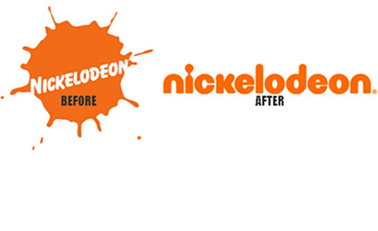 "Nickelodeon's New Logo: ""Squint Your Eyes, and It's"