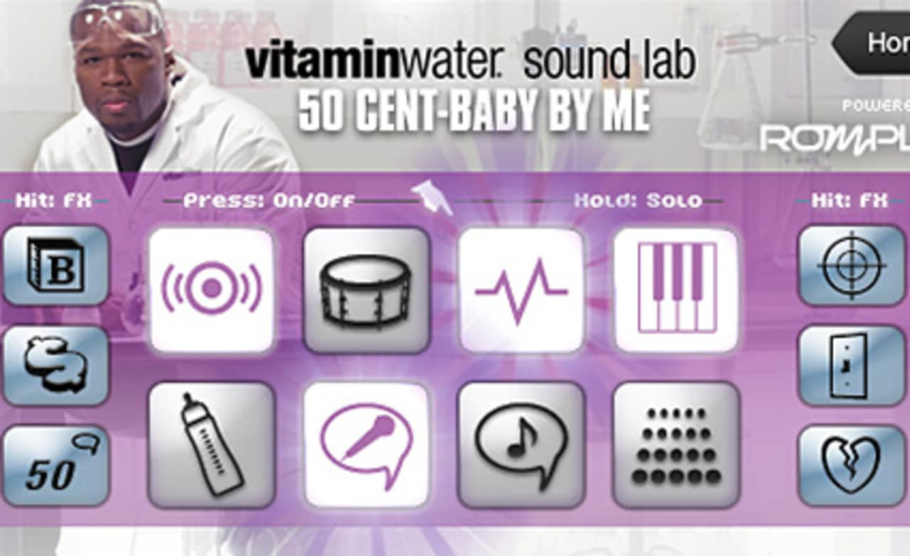 Vitamin Water and 50 Cent Launch iPhone App