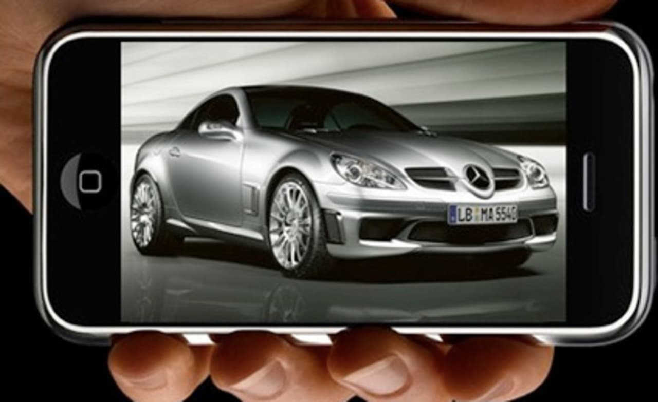 IPhone You Can Drive My Car, If It's A New Mercedes Anyway
