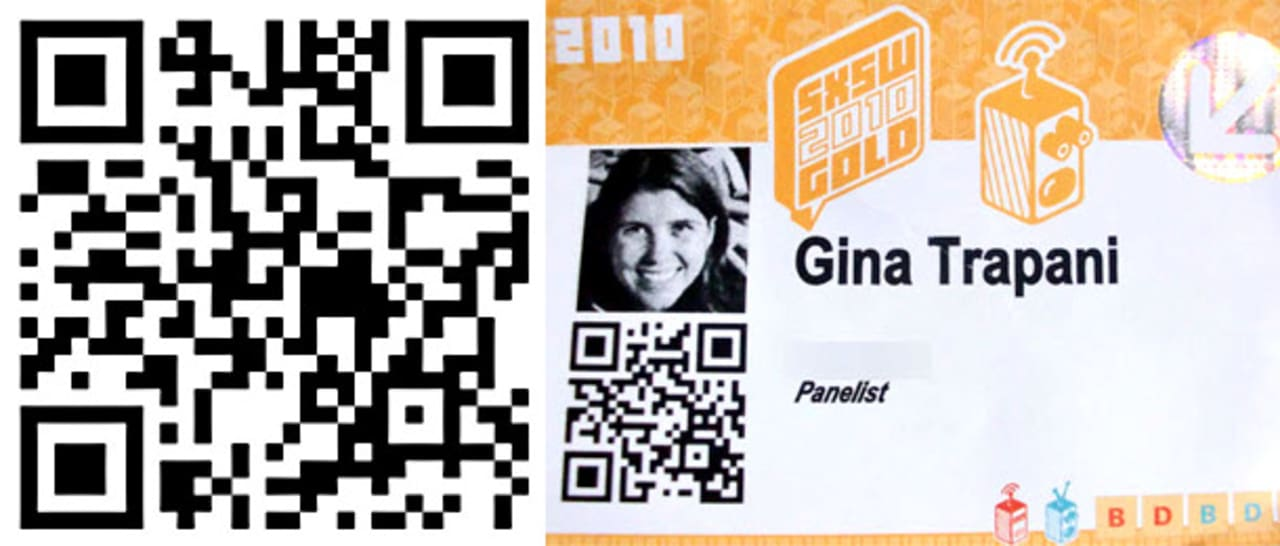 What business card just scan my qr code reheart