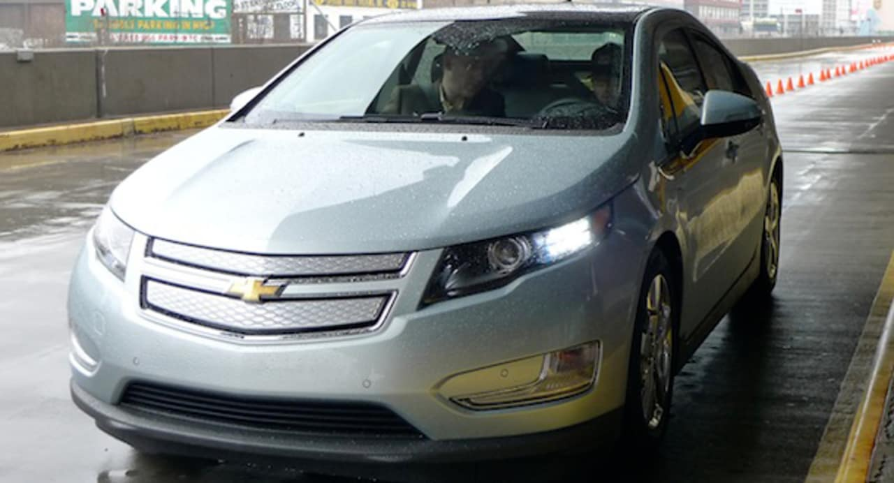 Test Driving The Chevy Volt Video Car