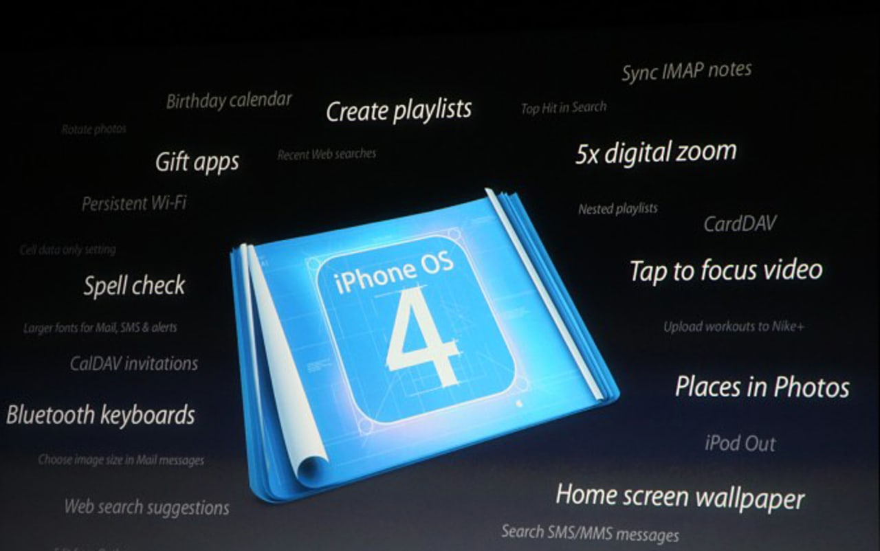 Crib Sheet: iPhone OS 4's Sexiest Features