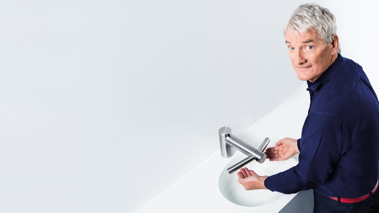 Dyson\'s Latest Coup: A $1,500 Sink Faucet That Dries Hands, Too