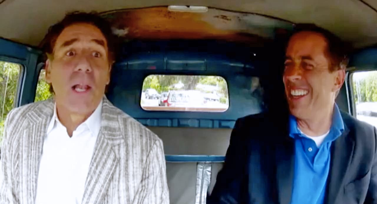 """Jerry Seinfeld's Web Series Finale Features Michael Richards; Goes """"There"""""""