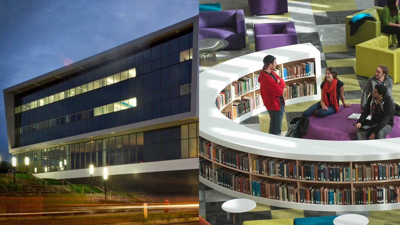 This New Library Of The Future Brings You Your Books Via Robot