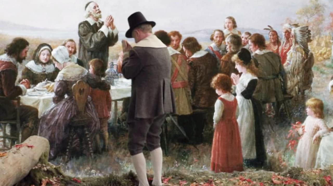 "Need Some Dinner Table Inspiration On Turkey Day? Try ""The Thanksgiver"""