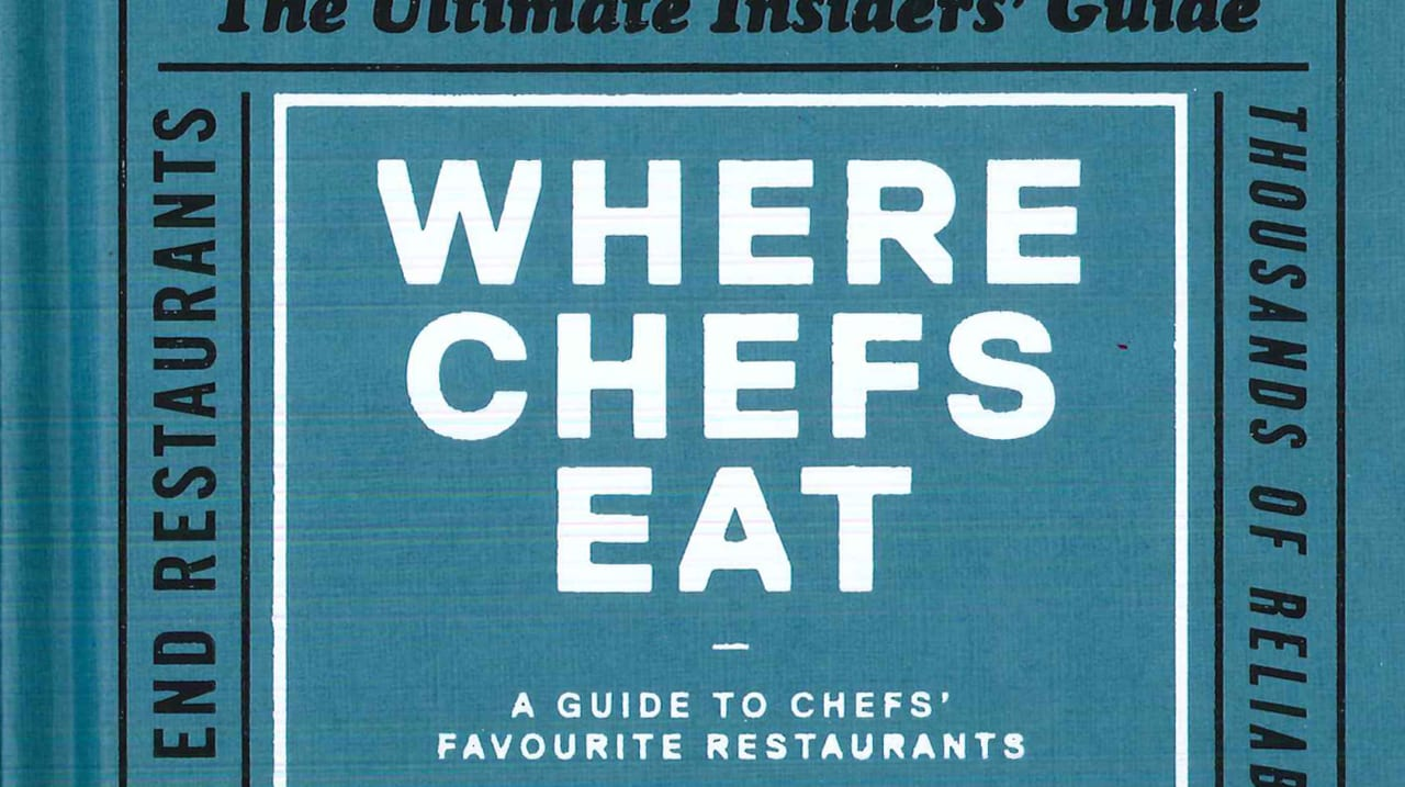 Where Chefs Eat And You Should Too