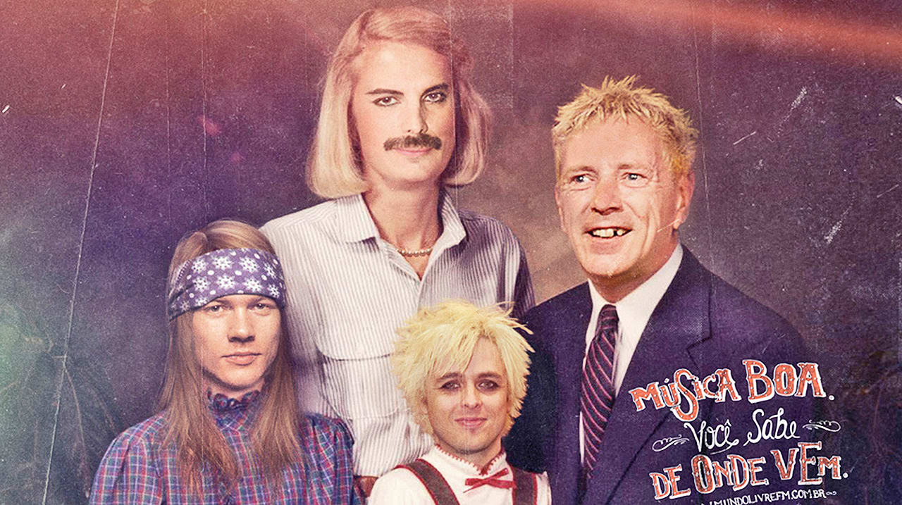 Rock Station Keeps It All In the Family, With Photoshop Job for the Ages