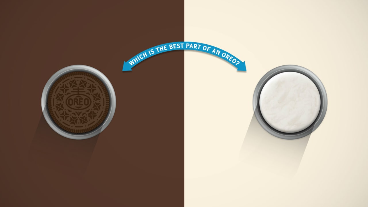 Oreo Launches A Super Important Test Asking The Super Important Question: Cookie Or Cream?