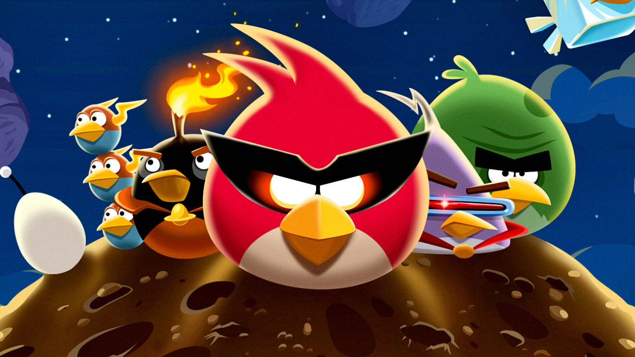 """Angry Birds"" Comes To The Kennedy Space Center"