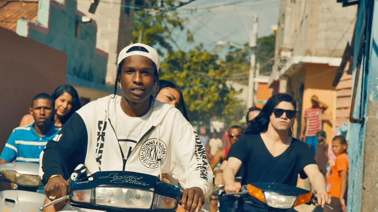 A$AP Rocky and Skrillex Drop Bass All Over The DR