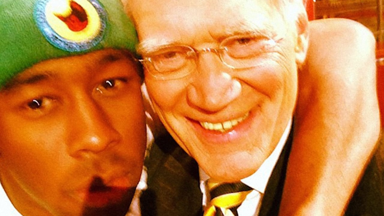 Tyler, The Creator Takes A Selfie With David Letterman, While On Letterman