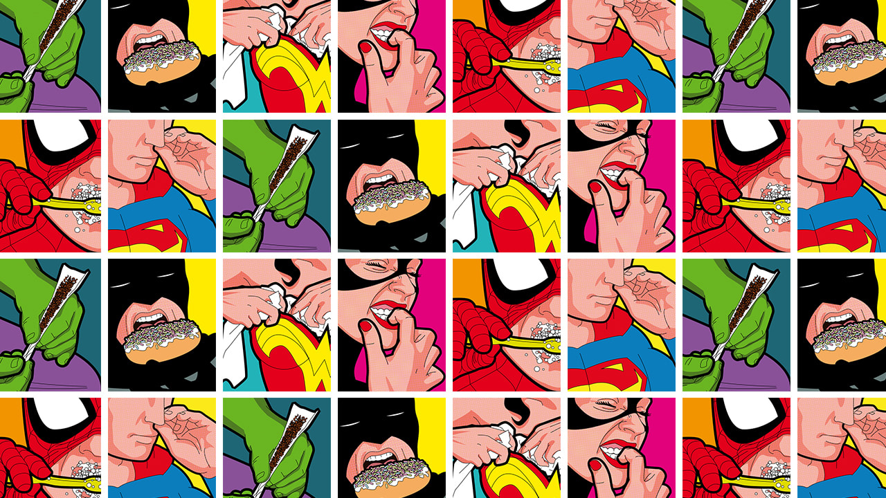 Get A Graphic Glimpse At The Secret Lives Of Superheroes