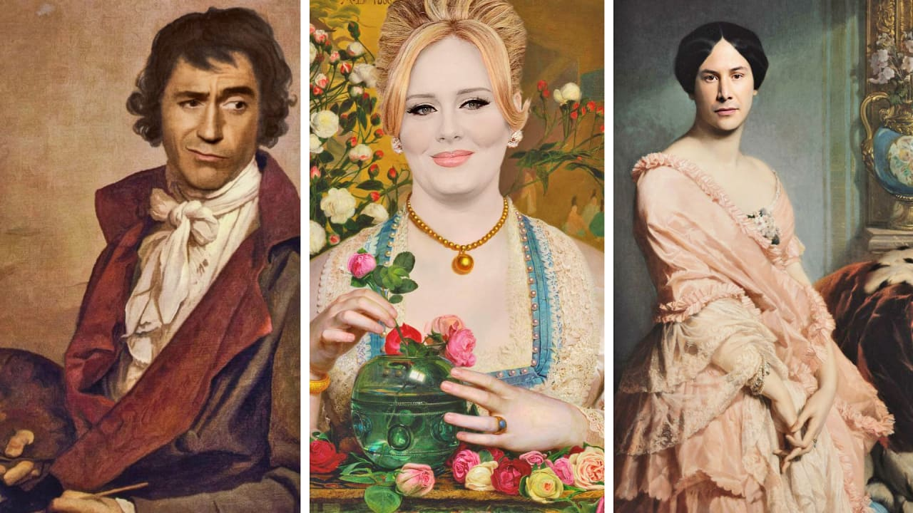 See Celebrities Reimagined As Renaissance Masterpieces