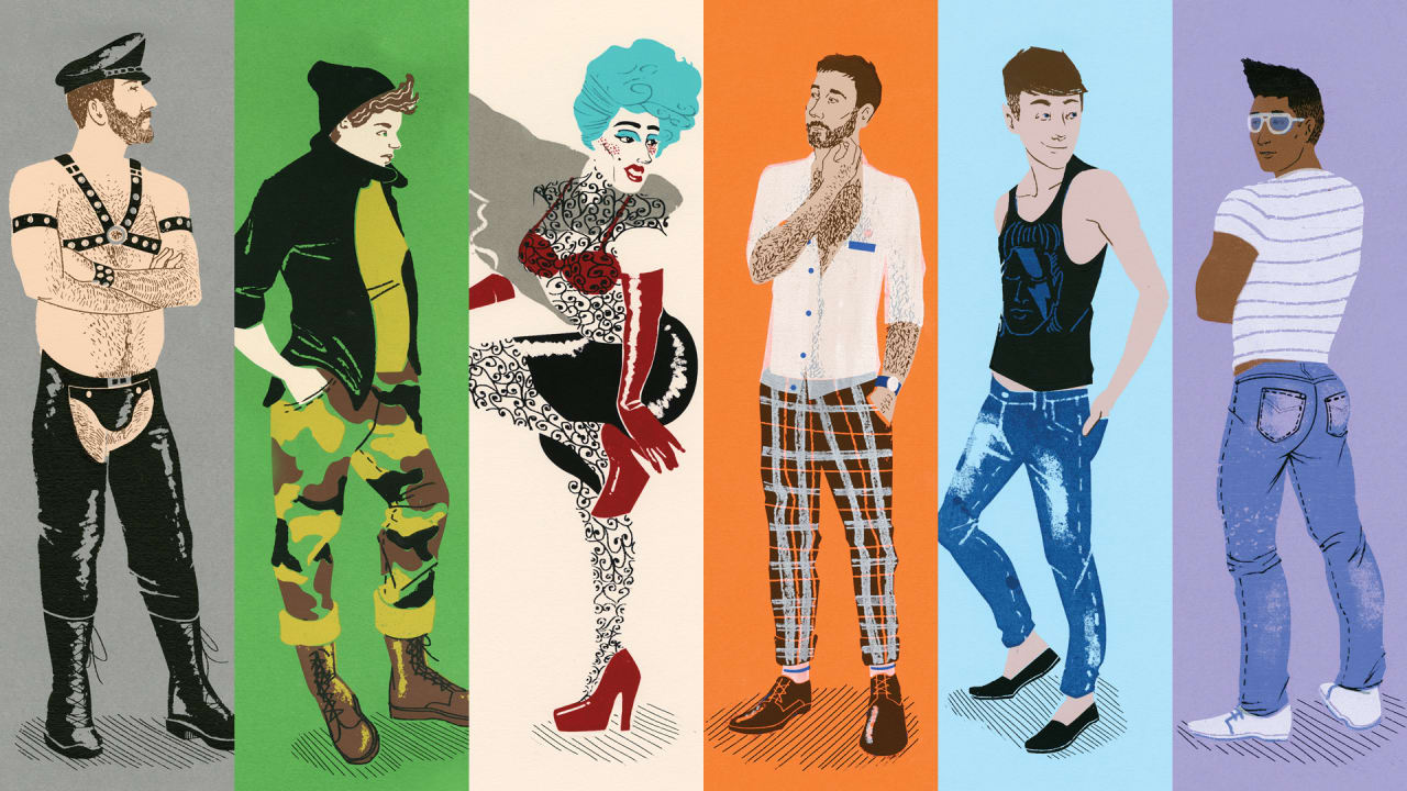 An Illustrated Guide To Recognizing Your Gay Stereotypes
