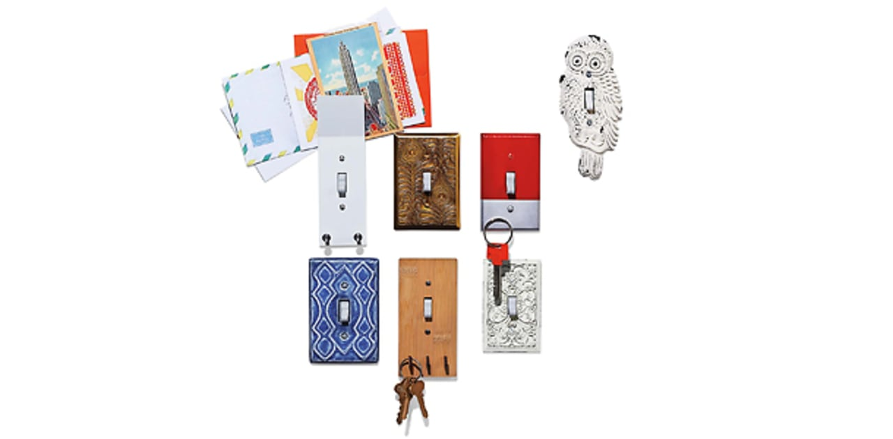 Kitschy Light Switches That Double As Decoration, Key Hooks, And Mail Holders