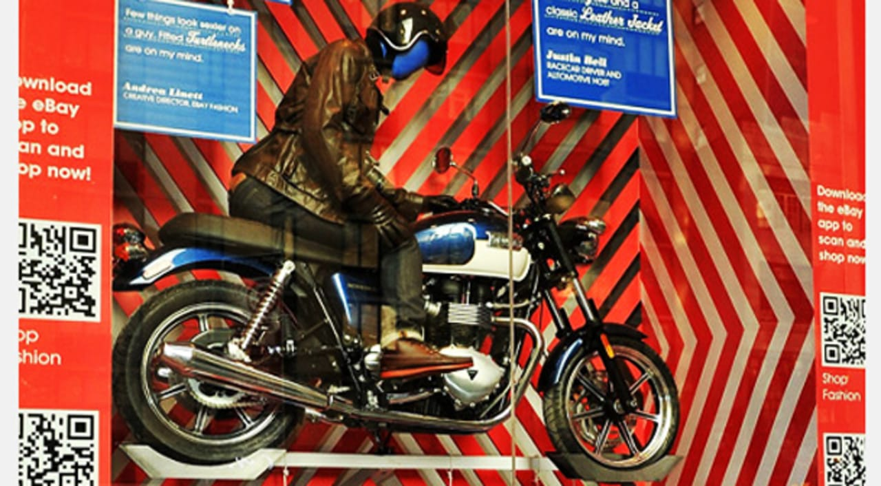 How Much For That Motorcycle In The Window Inside Ebay S Physical Pus