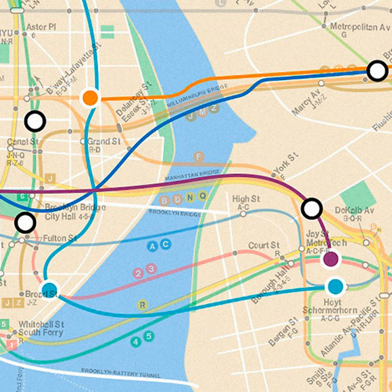 Subway Map Sheepshead Bay.Infographic Of The Day A Map Of Nyc S Lost Subway Lines