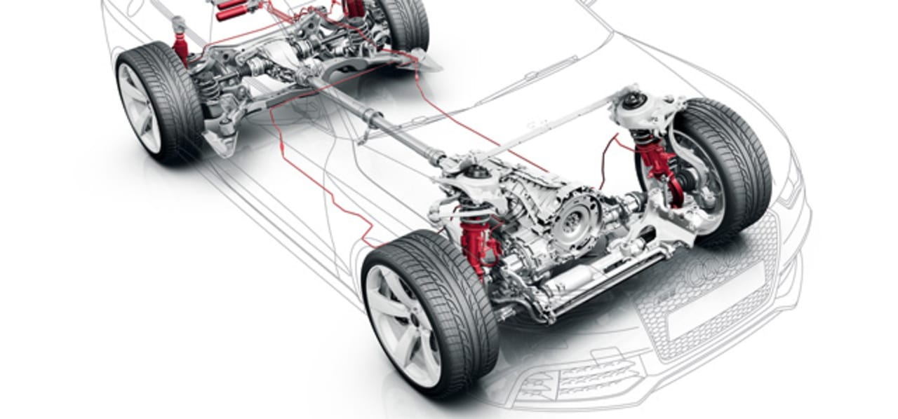Audi S Predictive Suspension Delivers A Smoother Car Ride By Anticipat