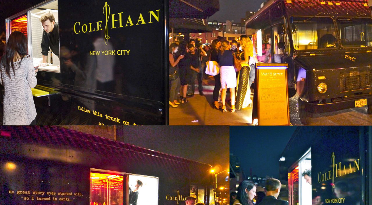 Cole Haan Wants To Keep You Up All Night, Uses Shoe Trucks To Help