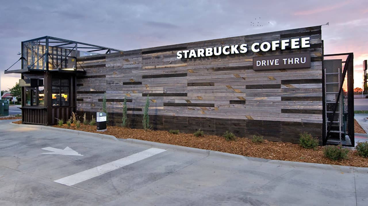 Starbucks Opens More Drive Throughs Some Are Made Of
