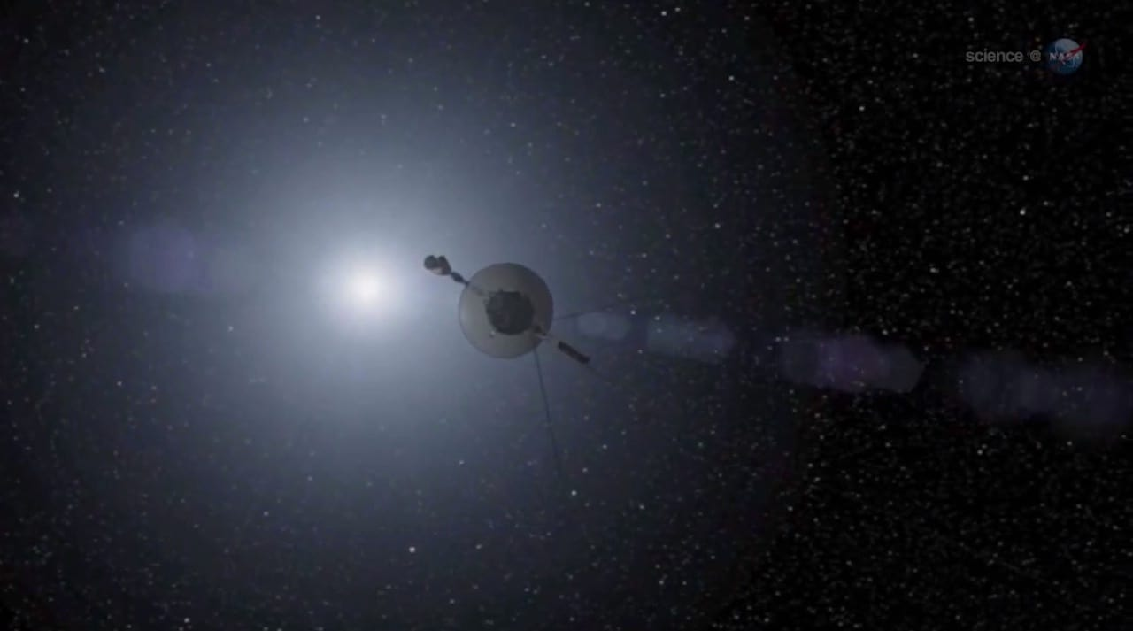 Today Humans Began A Journey To The Stars