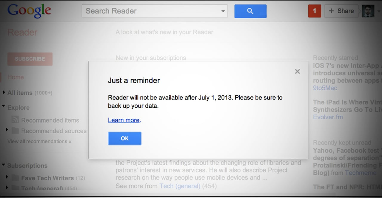 The One Google Reader Feature Nobody's Figured Out How To Replace