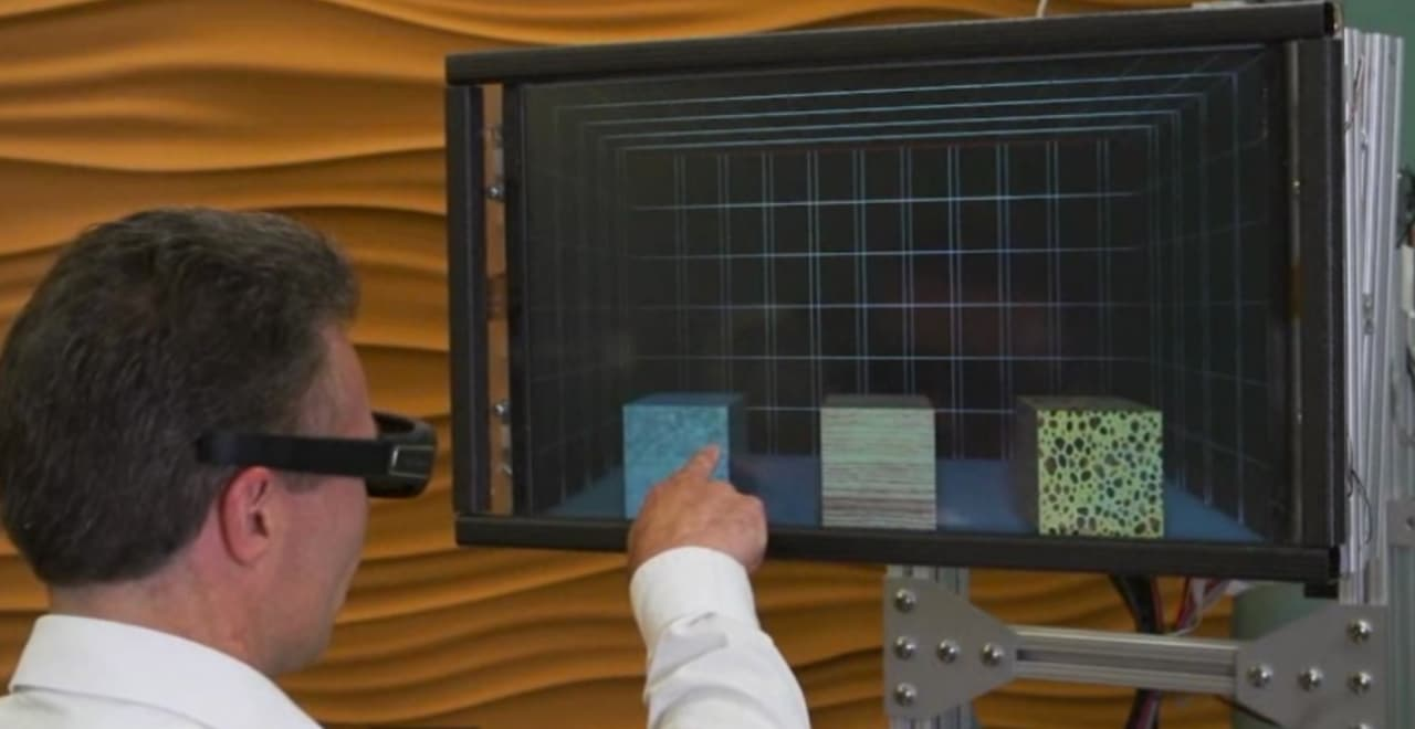 Microsoft Demos Touch Feedback Monitor Of The Future