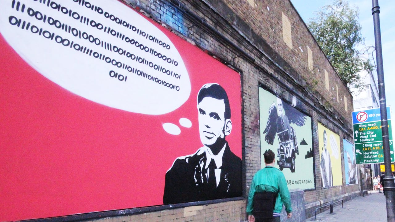 Street Art For Codebreakers Offers Puzzles Painted On City Walls