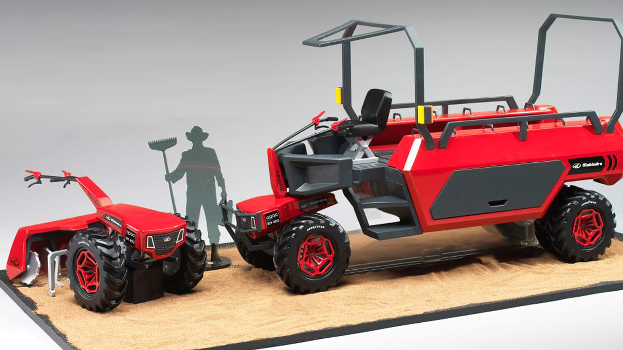 This Crazy Farm Tool Of The Future Carries People, Ploughs Soil, And Generates Electricity