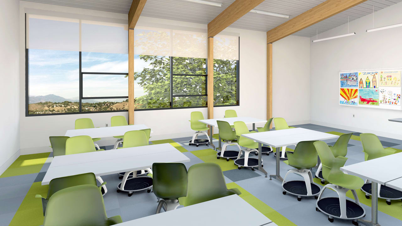 Classroom Design Companies ~ A better kind of school building to replace classes in
