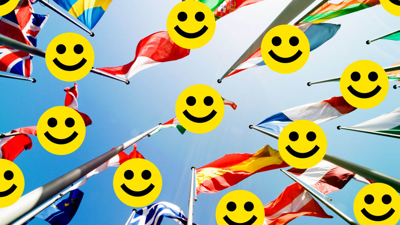 The 10 Happiest Countries In The World, And Why We're Not One Of Them