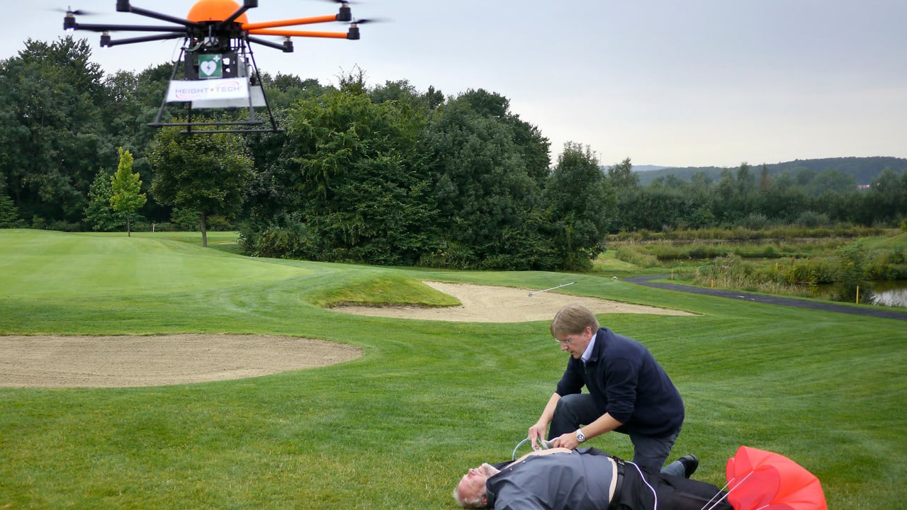 This Drone Defibrillator Can Fix Your Heart In The Middle Of Nowhere