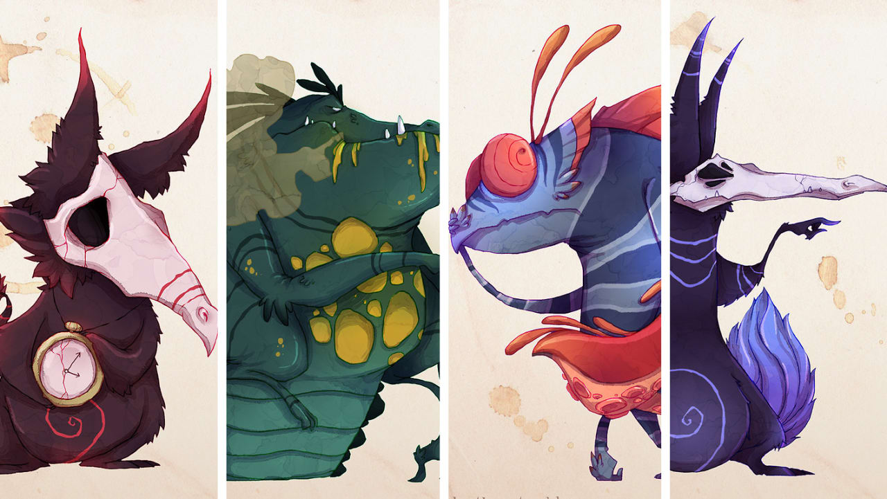 """Schizophrenia, Paranoia, Depression, And Other Mental Illnesses Brought To Life As """"Real Monsters"""""""