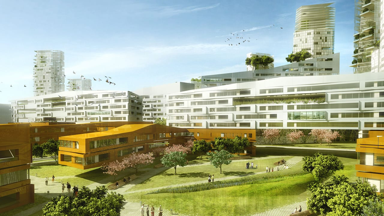 Combining The Built And Natural Environments To Create Generous Cities Of The Future