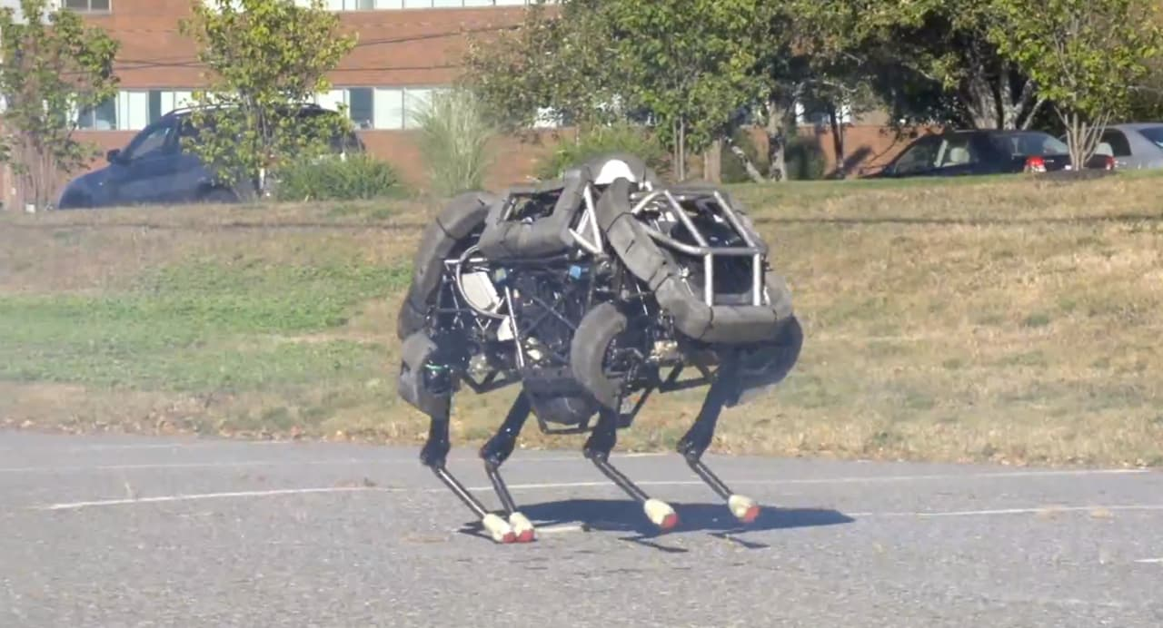 This Is The Robot That Will Hunt You When The Machines Make Us Their Slaves