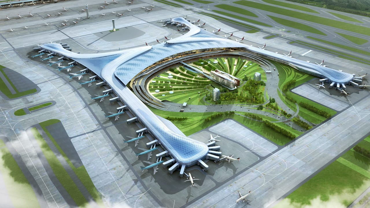 South Korea's New Sustainable City Inside An Airport